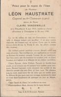 ABL , Léon Haustrate , Né à Ellezelles Le 4 Mai 1913 Tombé Au Champ D'honneur à Oesselghem Le 26 Mai 1940 , 6e Ch à Pied - Obituary Notices