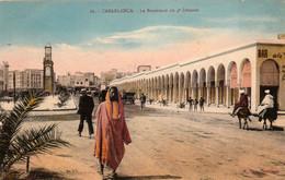 CASABLANCA (Maroc) à Petit Prix - Le Boulevard Du 4e Zouaves - Cpa En Bon état - 2 Scans - Casablanca