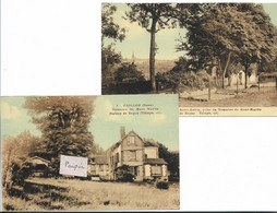 GAILLON Domaine Du Mt Martin - Lot De 2 Cartes - Altri Comuni