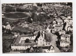 - CPSM FIGEAC (46) - Quartier Des Carmes (vue Aérienne) - Photo CIM 36089 - - Figeac