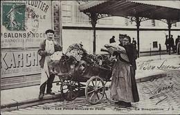 Les Petits Métiers De PARIS  --  La BOUQUETIERE - Street Merchants