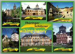 Thüringen - Mehrbildkarte 3   Thüringer Schlösser - Ohne Zuordnung