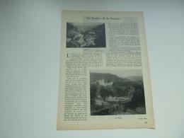 "Origineel Knipsel ( 4623 ) Uit Tijdschrift "" Touring Club De Belgique "" 1937 : Le Sentier De La Semois : Bohan La Fôret - Sin Clasificación"