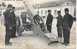 A/388          Guerre De 1914         Artillerie Lourde De Campagne     - Canon Rimailho De 155  C.t.r. - Equipment
