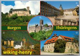 Thüringen - Mehrbildkarte 4   Burgen Thüringens - Ohne Zuordnung
