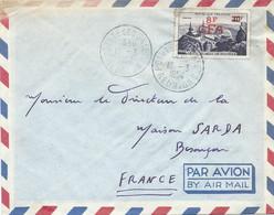 LETTRE PAR AVION 1954 AVEC CACHET POINTE DES GALETS - Lettres & Documents