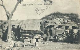 CPA Tchad Carte Photo Au Nord Du Tchad - Tsjaad