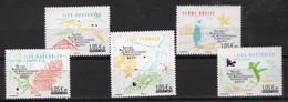 FRANCE TAAF 2020 65 ANS DES TERRES AUSTRALS ET ANTARTIQUES SERIE COMPLETE NEUVE - Unused Stamps