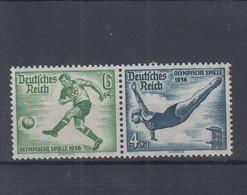 Deutsches Reich Michel Kat.Nr. ZD Postfr/** W105 - Se-Tenant