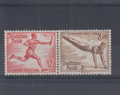 Deutsches Reich Michel Kat.Nr. ZD Postfr/** W109 - Se-Tenant