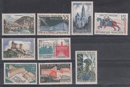 France (1958) Y/T N°1150 + 1156 + 1165 + 1172 + 1175/76 + 1177/78 + 1179  Neufs ** - Neufs