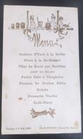 Annonay Petit Menu 1908 - Historische Documenten