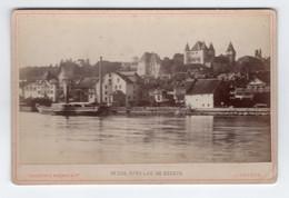 PHOTO ANCIENNE - NYON Le Lac De Genève - Old (before 1900)