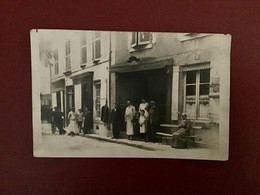 CPA PHOTO BOUCHERIE 1924 - Other