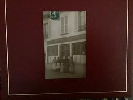 CPA PHOTO MAISON ÉMILE CHÂTEAU CAFÉ RESTAURANT CORBEIL PROBABLE - Other