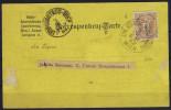 Osterrech: Mi 44 D Perfo 10.5 Auf Corr. Karte - Brieven En Documenten