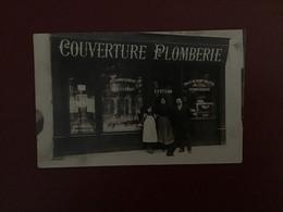 CPA PHOTO MAGASIN COUVERTURE PLOMBERIE PARIS 20è 11 Avenue Gambetta - District 20