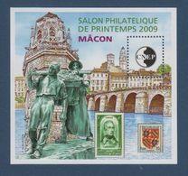 CNEP-2009-N°53**  MACON.Salon Philathélique De MACON - CNEP