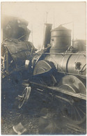 CHEMIN DE FER - Carte Photo, Catastrophe Ferroviaire - Other