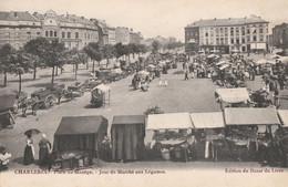 281.CHARLEROI. PLACE DU MANEGE-JOUR DE MARCHE AUX LEGUMES - Charleroi