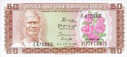 Siera Leone 50 Cent 1984 Pick 4e UNC - Sierra Leone