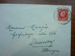 1924  Lettre  75c      PERFECT - Storia Postale