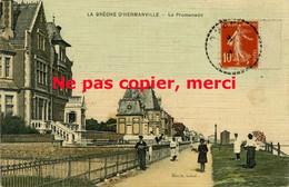 HERMANVILLE, La Brèche D'Hermanville,  éditeur Marie Tabac, La Promenade - Sonstige Gemeinden