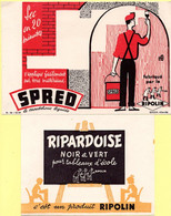 Lot De 4 Buvards Différents Ripolin. - Collections, Lots & Series
