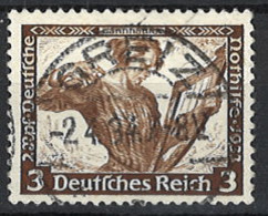 Deutsches Reich Germany Empire 1933. Mi.Nr. 499 A, Perf . 14:13, Used O - Gebraucht