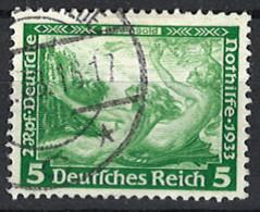 Deutsches Reich Germany Empire 1933. Mi.Nr. 501 A, Perf . 14:13, Used O - Gebraucht