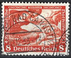 Deutsches Reich Germany Empire 1933. Mi.Nr. 503 A, Perf . 14:13, Used O - Gebraucht