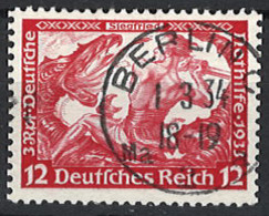 Deutsches Reich Germany Empire 1933. Mi.Nr. 504 A, Perf . 14:13, Used O - Gebraucht