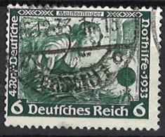 Deutsches Reich Germany Empire 1933. Mi.Nr. 502 B, Perf . 14, Used O - Gebraucht