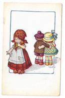 CARD BERTIGLIA LEI POVERA, GUARDA COPPIA BEN VESTITA -FP-V.2-0882-30138 - Bertiglia, A.