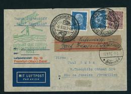 DR Zeppelin MiFr. Südamerikafahrt 1932 Stützerbach Sonderstempel N. Rio - Ohne Zuordnung