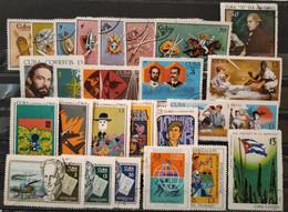CUBA - 1969 - Lot De 26 Timbres Oblitérés (voir Scan) - Collezioni & Lotti