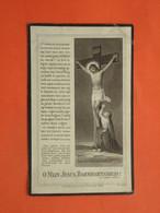 Louise - Lowagie - Vandenbussche Geboren Te Bovekerke 1849 Overleden Te Proven 1918  (2scans) - Religione & Esoterismo
