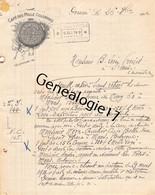 59 4697 DOUAI NORD 1912 CAFE DES MILLE COLONNES Des Ets BARDIN Place D Armes - 1900 – 1949