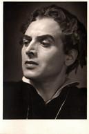 Carte Photo Originale Avec Correspondance Dos De 1948 - Portrait D'Acteur Maquillé à Identifier - Berühmtheiten