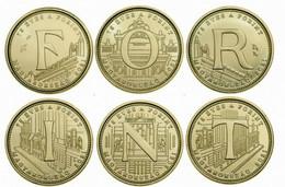 HUNGARY - UNGARN - HONGRIE 5 FORINT COMMEMORATIVE 6 COINS SET - LETTERS FORINT - UNC 2021 - Hongarije