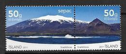 Islande 2011, N°1254/1255 Neufs Snaefellsnes SEPAC - Nuevos