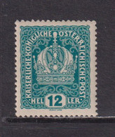 AUSTRIA  -  1916-19 12h Hinged Mint - Ongebruikt