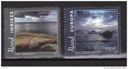 Aland 2011 N°350/351 Neufs  Paysages Sepac - Aland