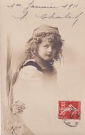 Carte Photo  D'un Enfant En 1911 - Portraits