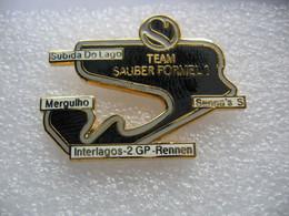 Pin's 2me Course Grand Prix En Formule 1 De La Team SAUBER Sur Le Circuit D'INTERLAGOS à São Paulo Au Brésil - F1