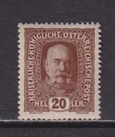AUSTRIA  -  1916-19 20h Hinged Mint - Ongebruikt