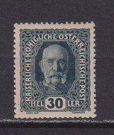 AUSTRIA  -  1916-19 30h Hinged Mint - Ongebruikt