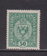 AUSTRIA  -  1916-19 50h Hinged Mint - Ongebruikt