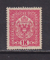 AUSTRIA  -  1916-19 1k Hinged Mint - Ongebruikt