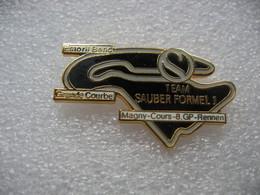 Pin's 8me Course Grand Prix En Formule 1 De La Team SAUBER Sur Le Circuit De MAGNY-COURS En France - F1